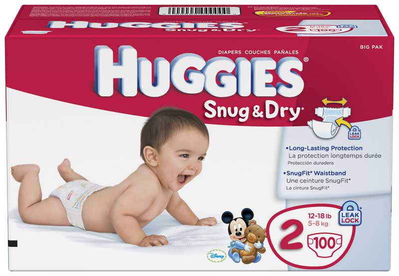 Huggies Brand Diaper