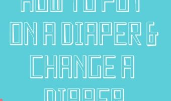 How to change diaper